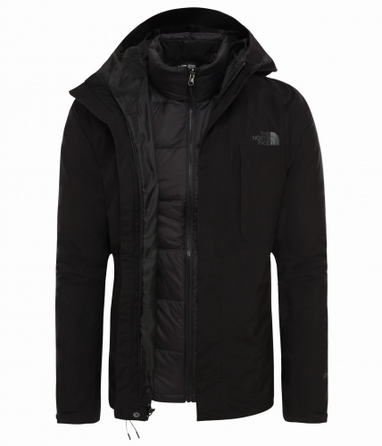 Kurtka Męska The North Face Mountain Light Triclimate tnf black