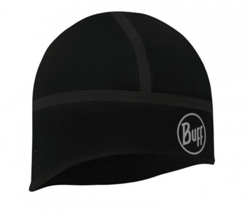 Czapka Buff Windproof Hat solid black M/L