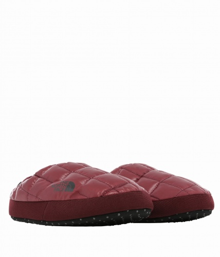 Kapcie Damskie The North Face Thermoball Tent Mule V deep garnet red/tnf black