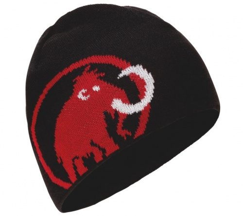 Czapka Mammut Tweak Beanie black/scooter