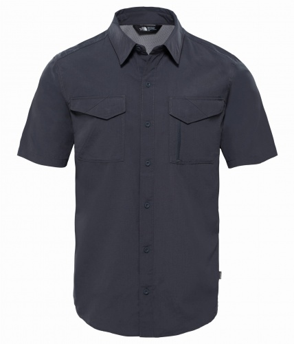 Koszula Męska The North Face S/S Sequoia Shirt asphalt grey