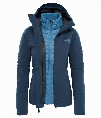 Kurtka damska The North Face THERMOBALL TRCM JKT ink blue