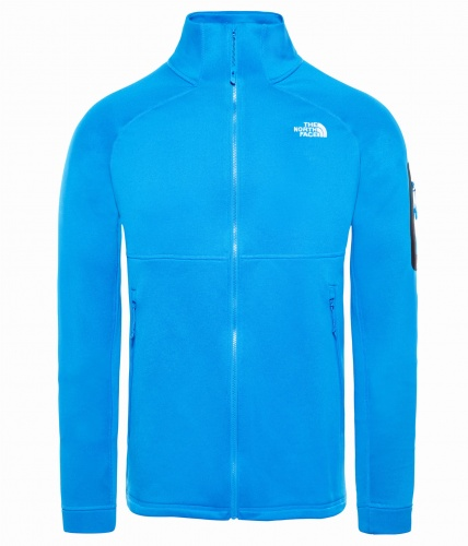 Polar Męski The North Face IMPENDOR PD bomber blue dark heather