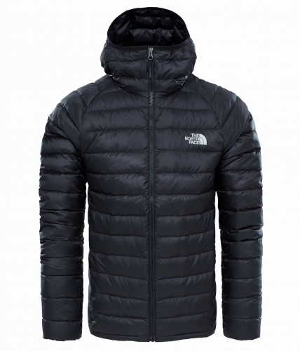 Kurtka Męska The North Face TREVAIL HD tnf black/tnf black