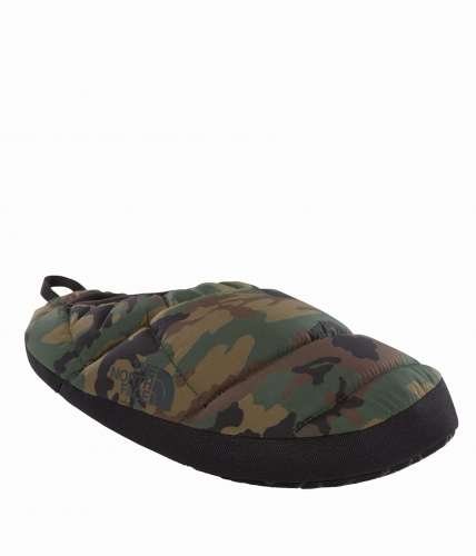 Kapcie Męskie The North Face NSE TENT MULE SLIPPERS III black forest wood M