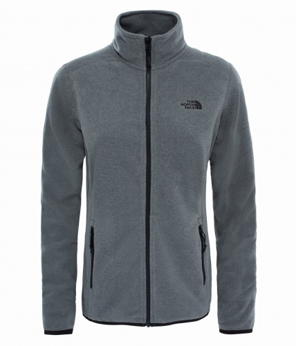 Polar Damski The North Face Glacier FZ medium grey heather