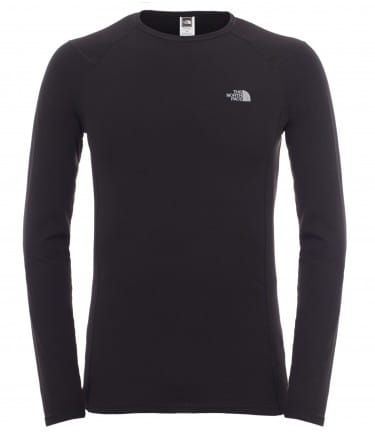 Koszulka Męska The North Face Warm L/S Crew Neck black