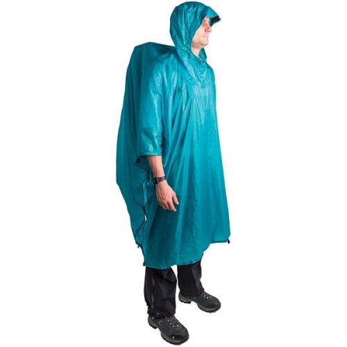 Poncho Sea To Summit Ultra-Sil Nano Tarp Poncho niebieskie