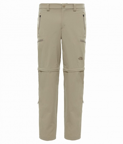 Spodnie Męskie The North Face Exploration Convertible Pant dune beige