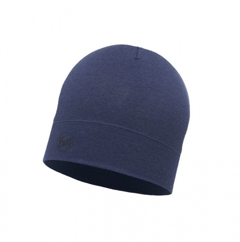 Czapka Buff WOOL HAT MID solid estate blue