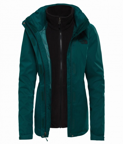 Kurtka Damska The North Face EVOLVE II Trcm botanical garden green