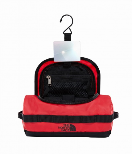 Kosmetyczka The North Face Base Camp Travel Canister Large tnf red