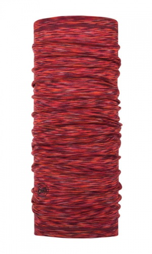 Chusta Buff  MERINO WOOL LIGHT rusty multi stripes