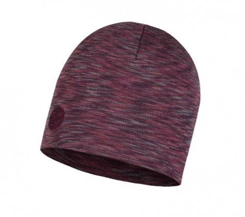 Czapka Buff WOOL HEAVY HAT shale grey multi stripes