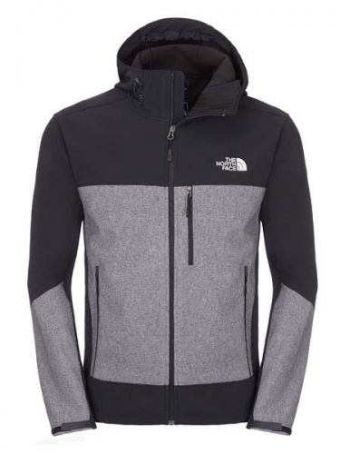 Softshell Męski The North Face APEX BIONIC HD tnf black/black heather XL