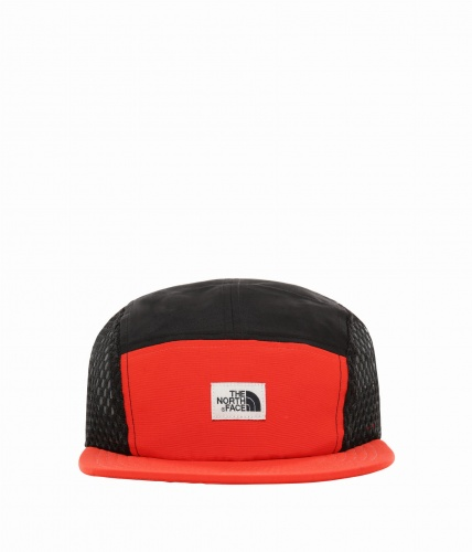 Czapka The North Face Class V Five Panel fiery red/tnf black