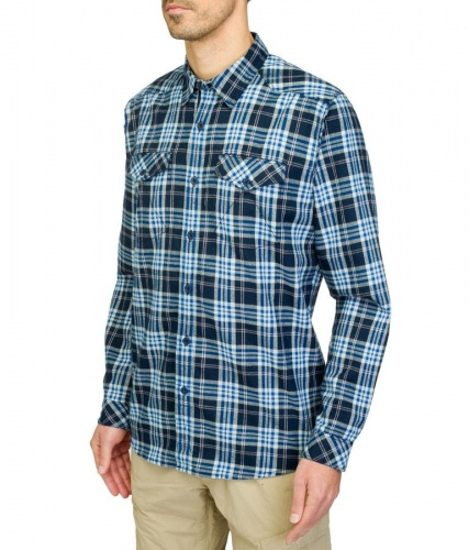 Koszula  Męska The North Face L/S Lodge Shirt Cosmic Blue Plaid M