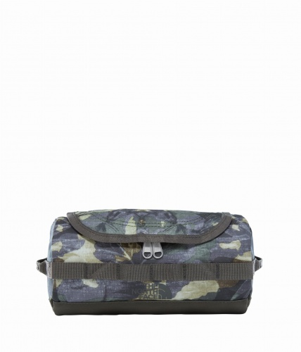 Kosmetyczka The North Face Base Camp Travel Canister Small english green tropical camo / new taupe green