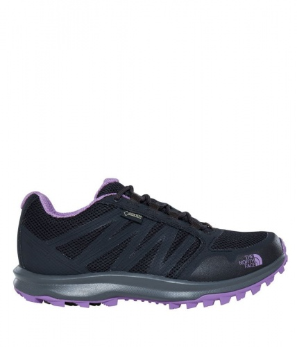 Buty damskie The North Face Litewave Fastpack GTX phantom grey/bellflower purple