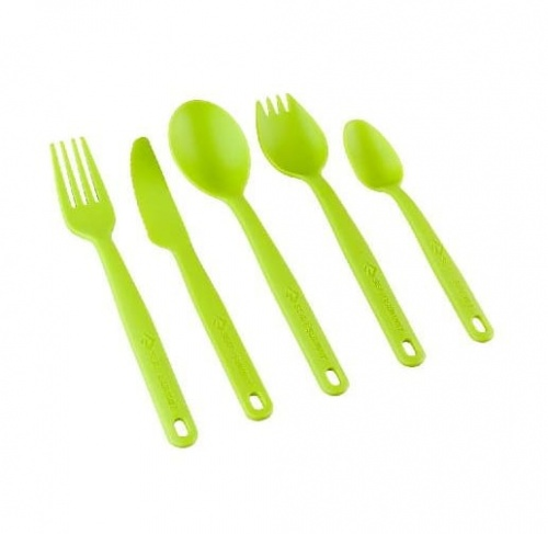 Widelec Sea To Summit Camp Cutlery  Fork lime