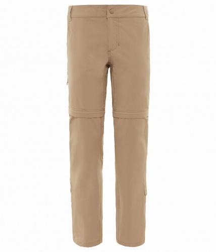 Spodnie Damskie The North Face Exploration Convertible Pant dune beige