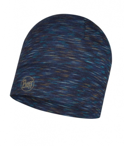 Czapka Buff WOOL HAT LIGHT denim multi stripes