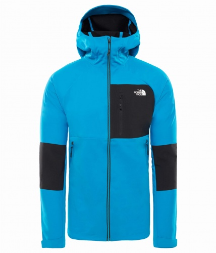 Windstopper The North Face Impendor Windwall hoodie hyper blue/tnf black