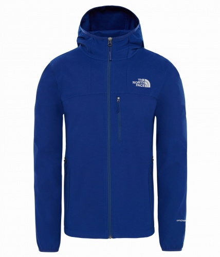Softshell Męski The North Face Nimble Hoodie night blue