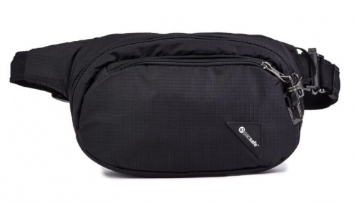 Nerka Pacsafe Vibe 100 Hip Pack jet black