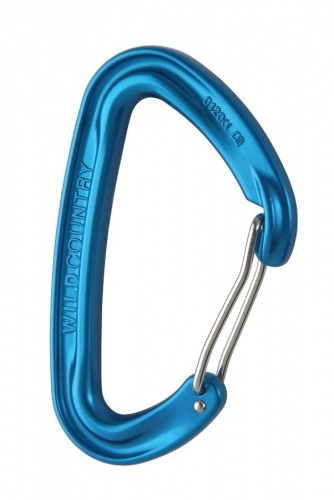 Karabinek Wild Country Wildwire blue