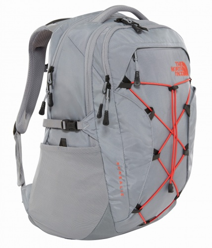 Plecak Damski The North Face Borealis 25 mid grey/juicy red