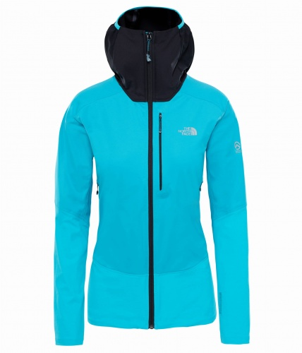 Softshell Damski The North Face SMT L4 Windstopper Hybrid HD blue/black